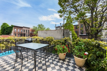 Carroll Gardens Historic Beauty With Front Garden And South Back - Back garden